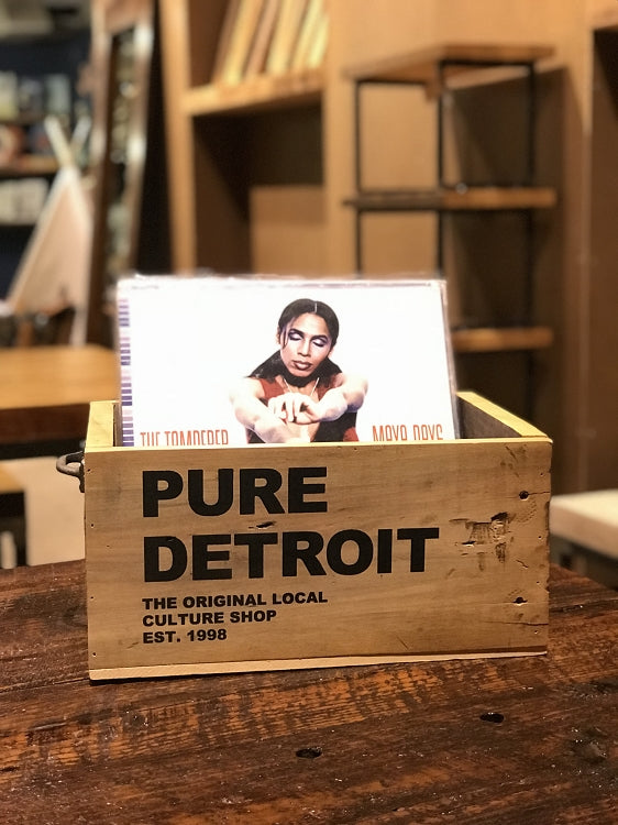 Pure Detroit Salvaged Wood Record Crate