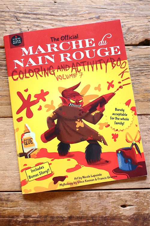 The Official Marche du Nain Rouge Coloring and Activity Book