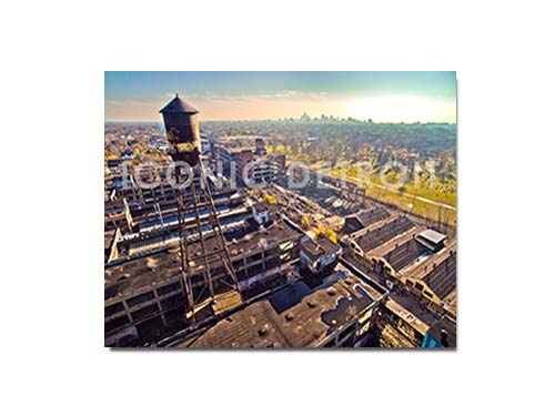 Packard Plant Aerial Luster or Canvas Print $35 - $430 - Pure Detroit