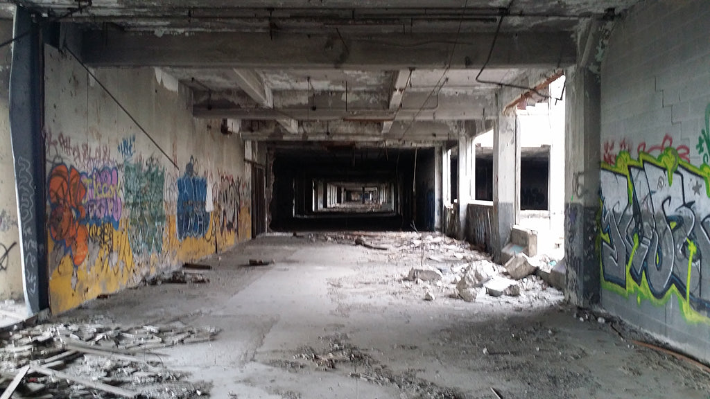 Packard Plant Tour