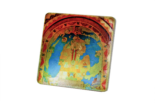 Guardian Mosaic Porcelain Tile Coaster - Pure Detroit