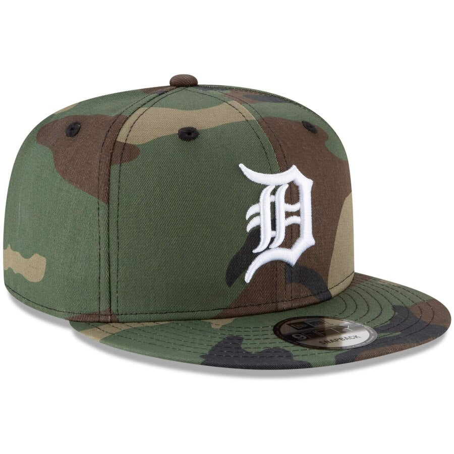 New Era Detroit Tigers Camo 9FIFTY Adjustable Snapback Hat
