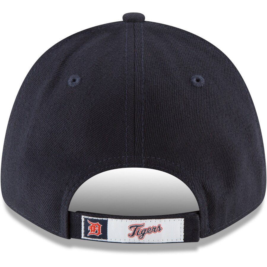 New Era Detroit Tigers Home The League 9FORTY Adjustable Hat / White + Navy
