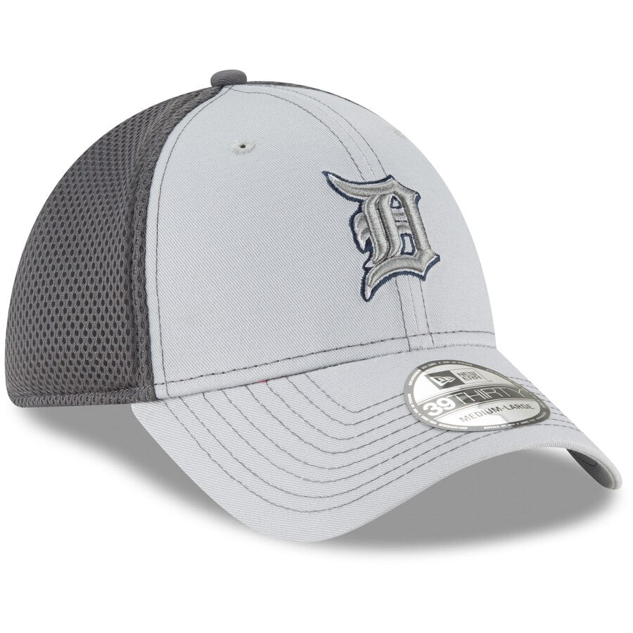 New Era Detroit Tigers Neo 39THIRTY Flex Hat / Gray
