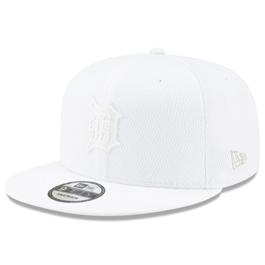 New Era Detroit Tigers 9FIFTY MLB Adjustable Snapback Hat / White