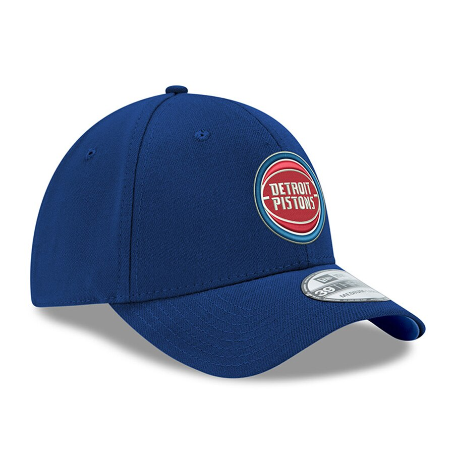 New Era Detroit Pistons League 9Forty Adjustable Hat / Blue