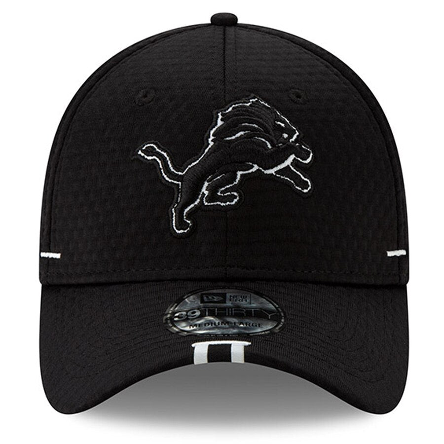 New Era Detroit Lions Training Camp 39THIRTY Flex Hat / Black - Pure Detroit