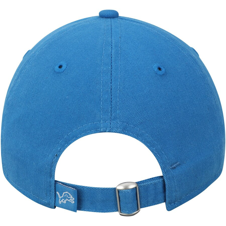 New Era Youth Detroit Lions Primary Core Classic 9Twenty Adjustable Hat / Blue