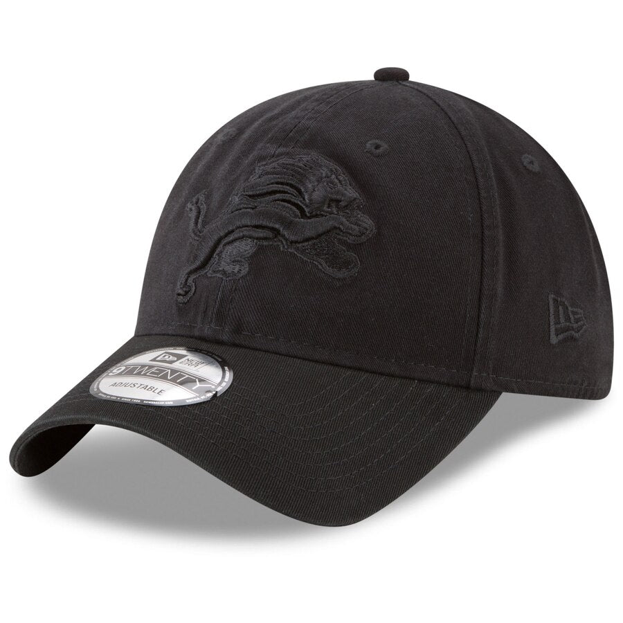 New Era Detroit Lions 39THIRTY Flex Hat / Black - Pure Detroit