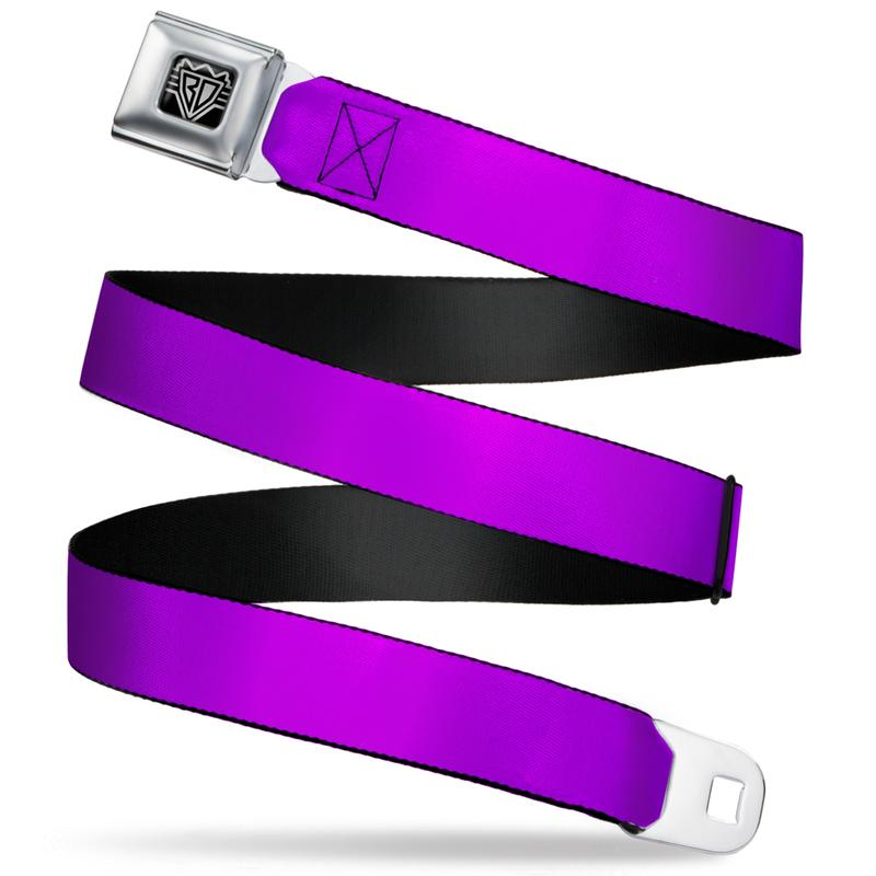 Ford Starburst Seatbelt Belt / Starburst buckle + Light Purple Webbing