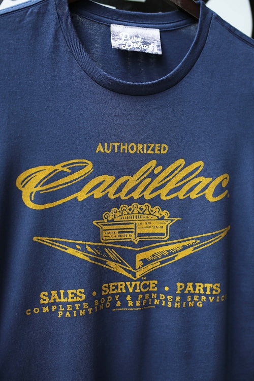 Cadillac Sales Service & Parts Tee / Navy / Women's - Pure Detroit