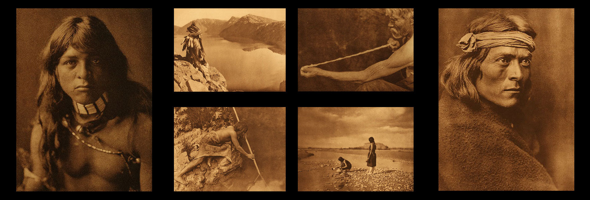 collage of north american indian images hero 2