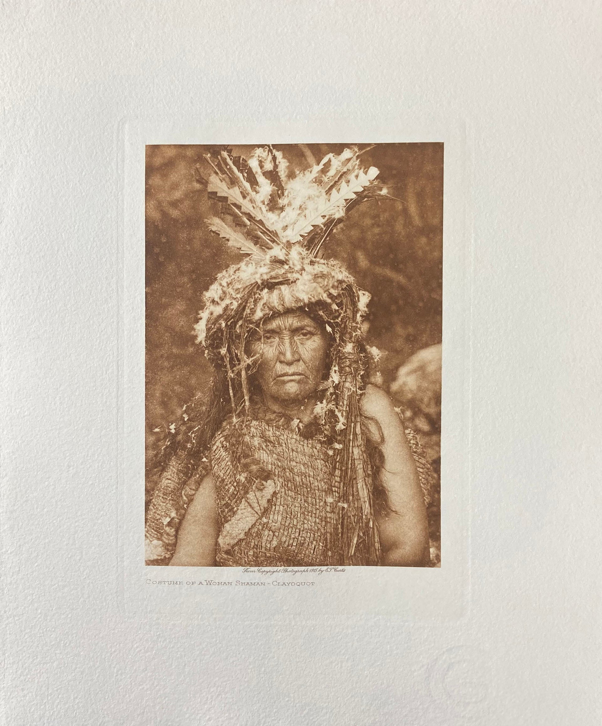Costume of a Woman Shaman - Clayoquot