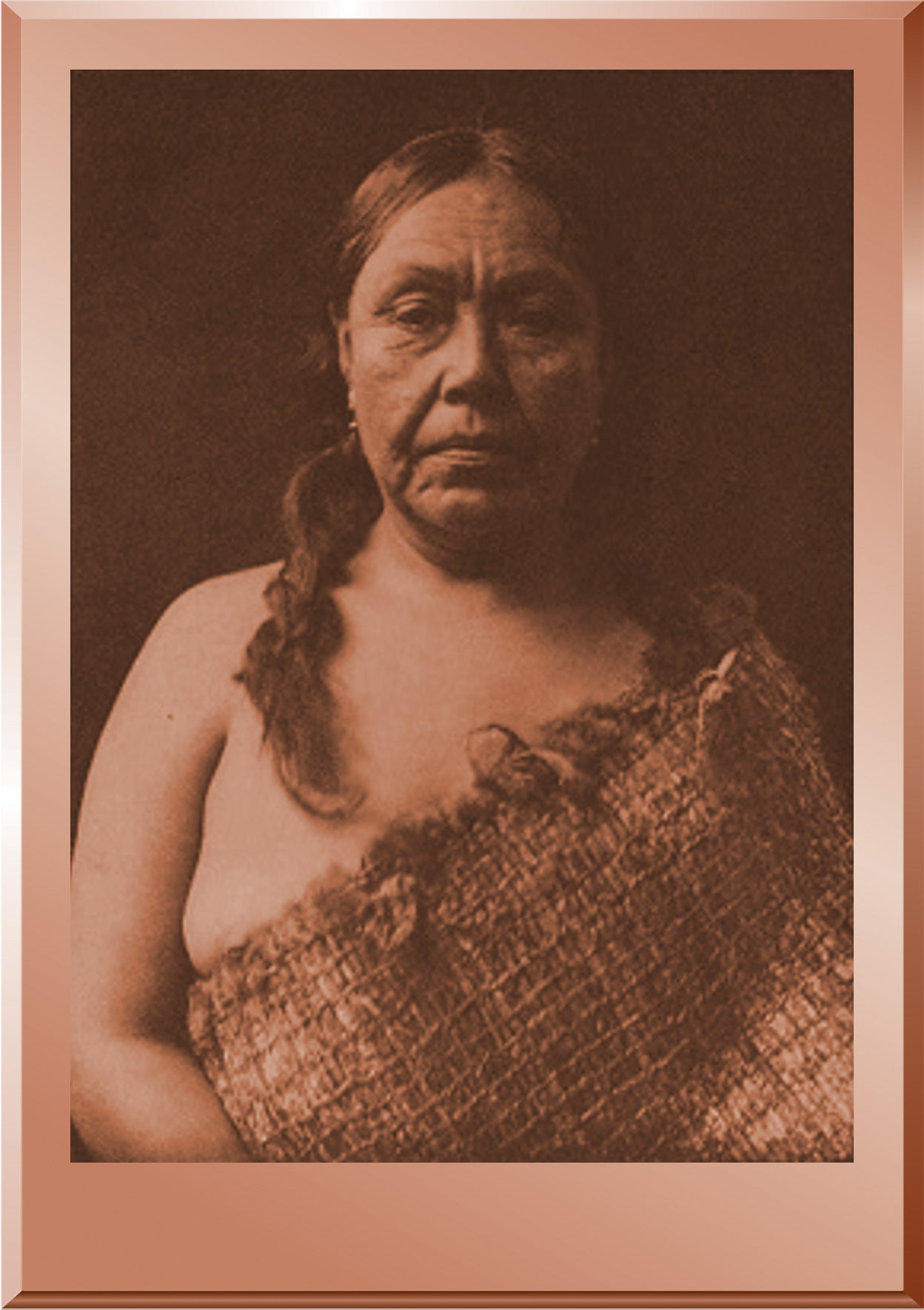 A Clayoquot Woman