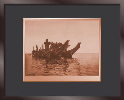 Masked Dancers in Canoes - Qagyuhl (a)