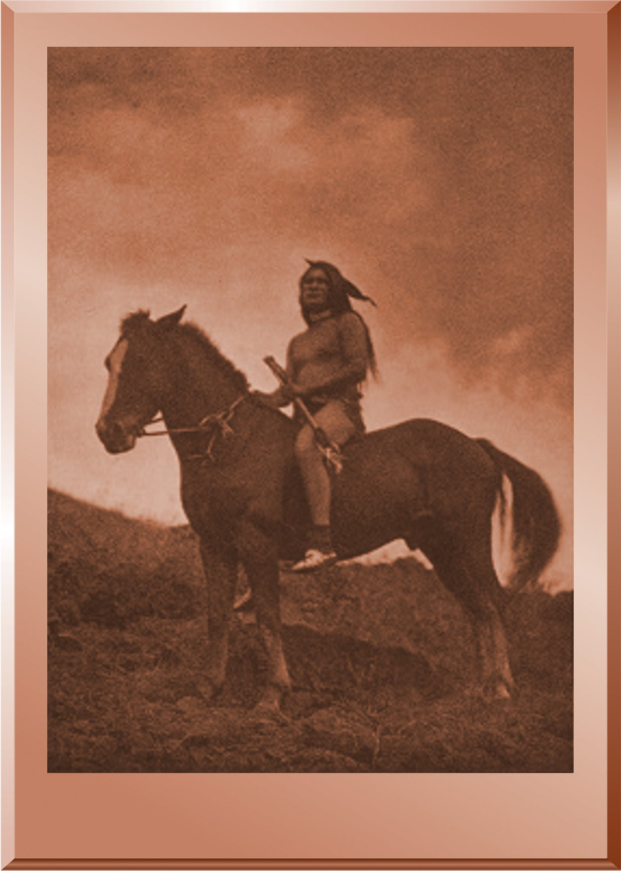 The Old Time Warrior - Nez Perce