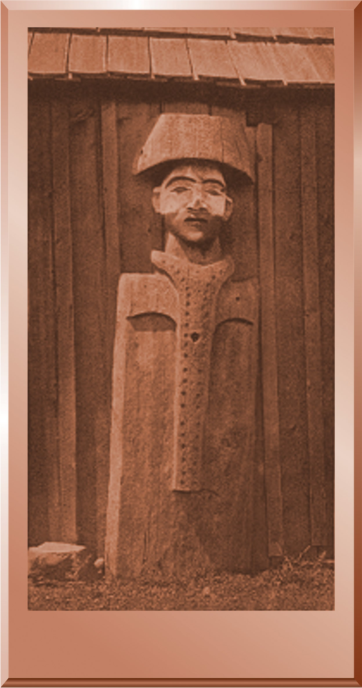 Carved Figure - Cowichan