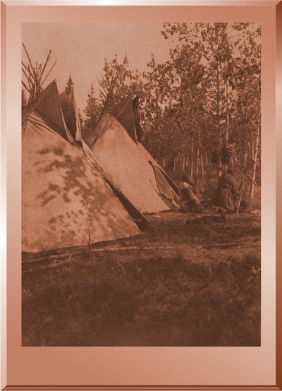 Assiniboin Camp on Bow River