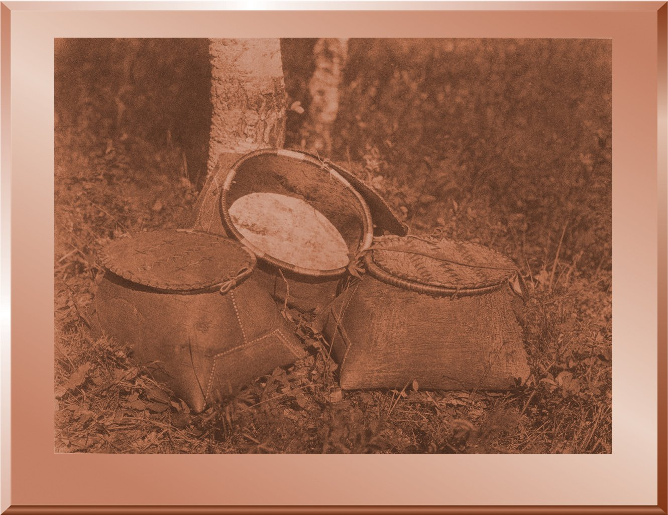 Birch Bark Baskets - Cree