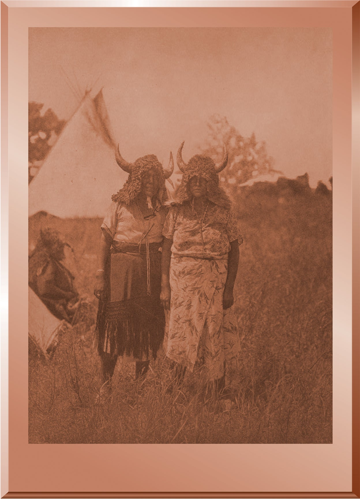 Buffalo Dancers, Animal Dance - Cheyenne