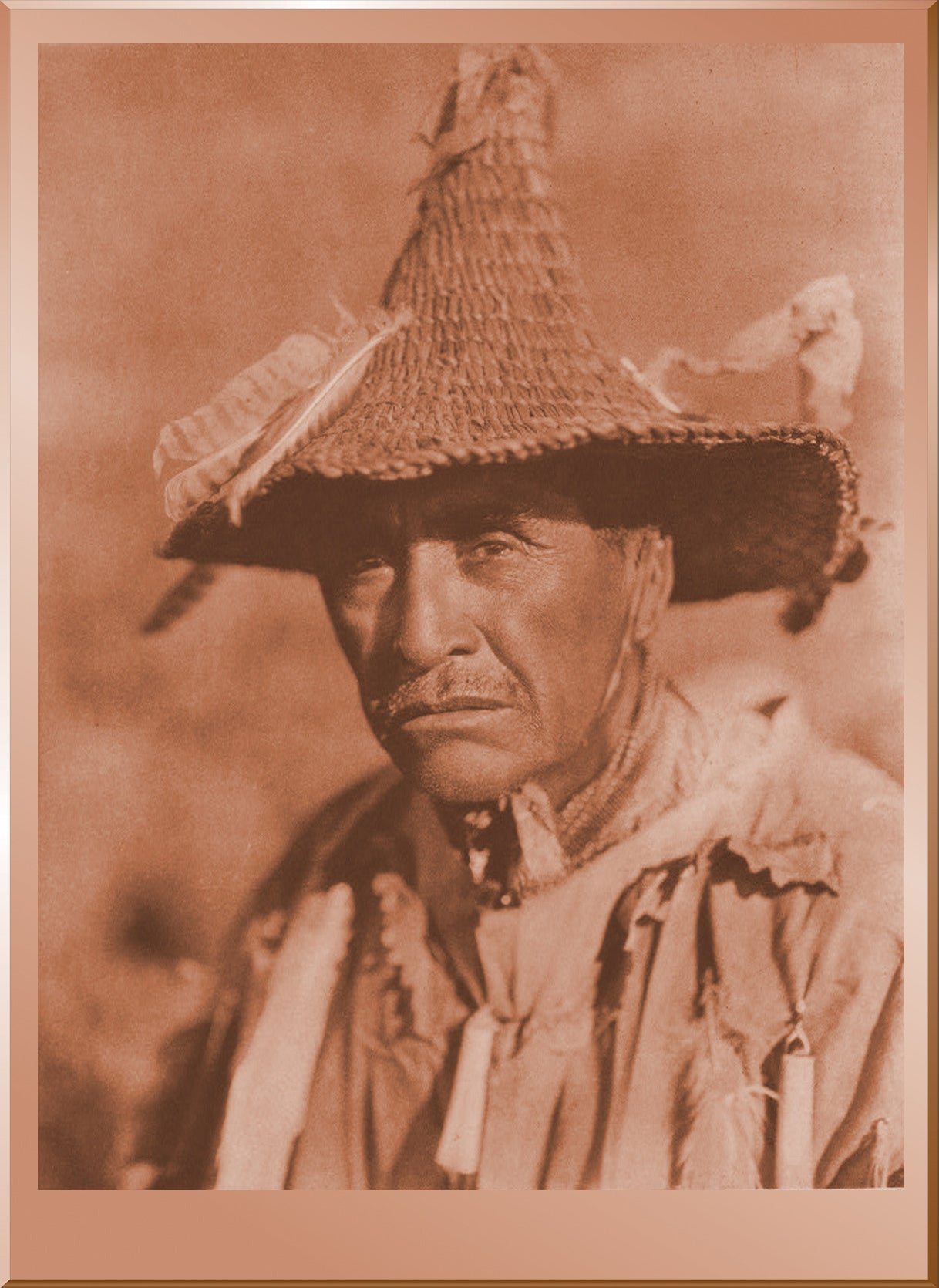 Klamath Warrior's Head Dress