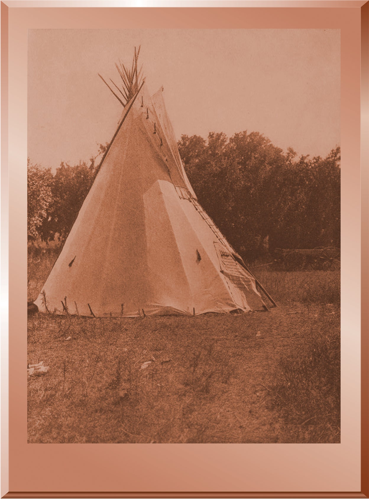Preparatory Lodge, Cheyenne Sun Dance