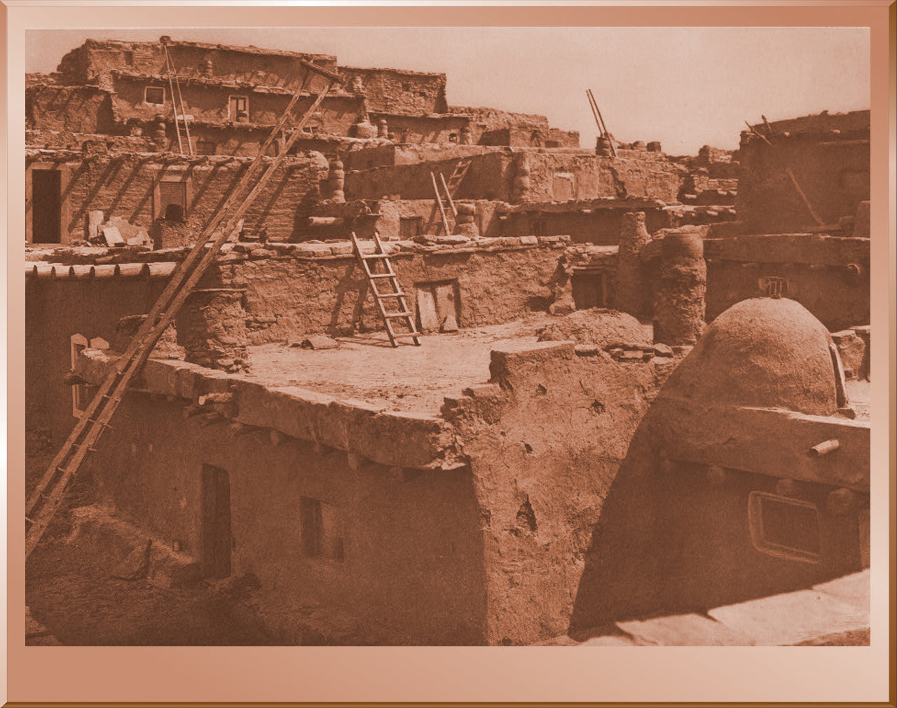 The Terraced Houses of Zuni