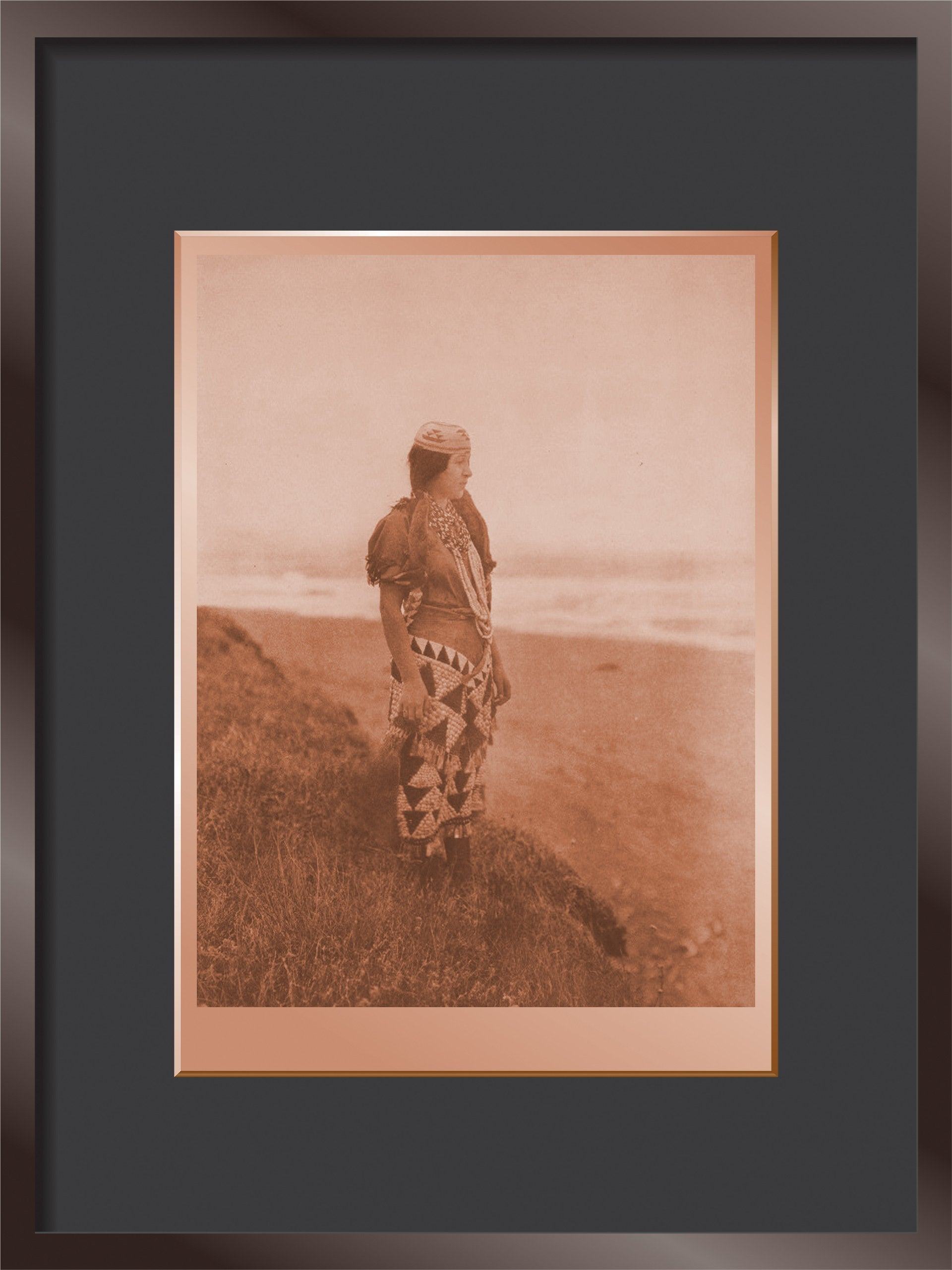 Woman's Primitive Dress - Tolowa
