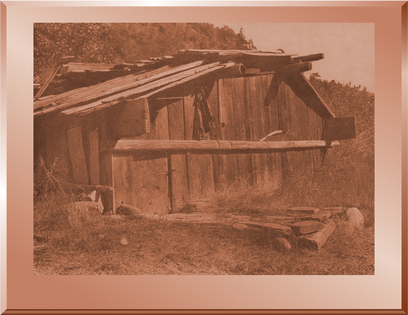 Yurok House on Klamath River