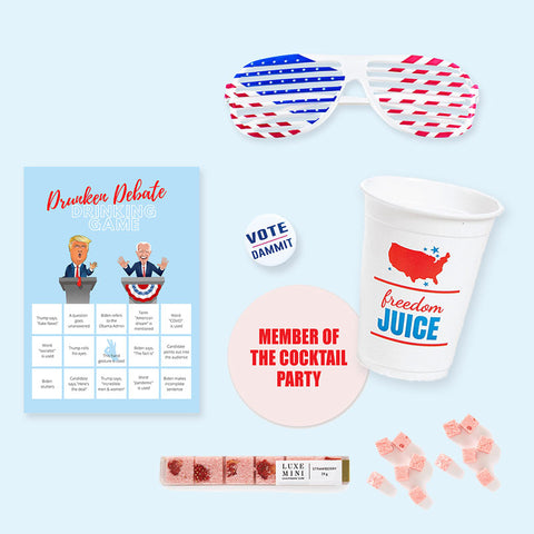 2020 Presidential Debate Party box