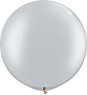 Metallic Silver Balloon