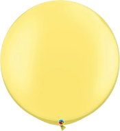Pearl Lemon Chiffon Balloon