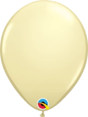 Ivory Silk Balloon