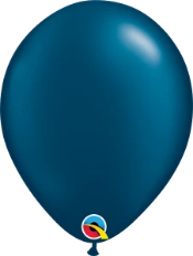 Pearl Midnight Blue Balloon