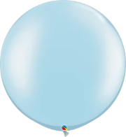 Pearl Light Blue Balloon