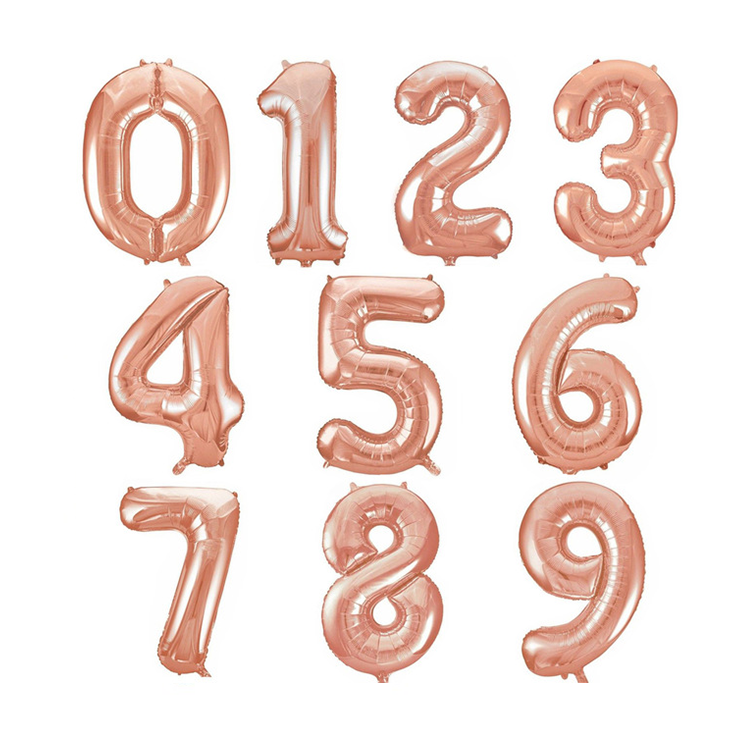 "40"" Balloon Numbers"