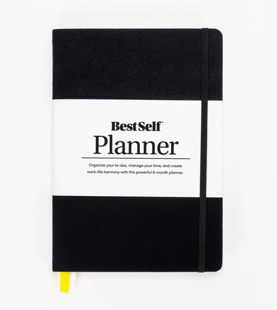 Best Self Planner, Organizer, Time Management, Goal Setting