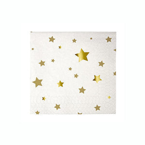 Gold Star Small Napkins