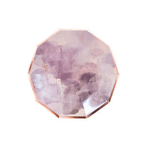 Light Purple Watercolor Large Plates
