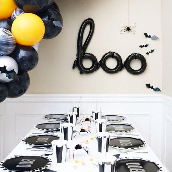 Black Stripe Party Cups