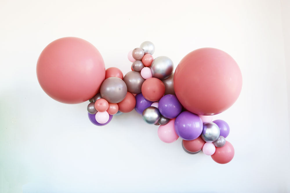 Mauve-alous Balloon Garland Kit