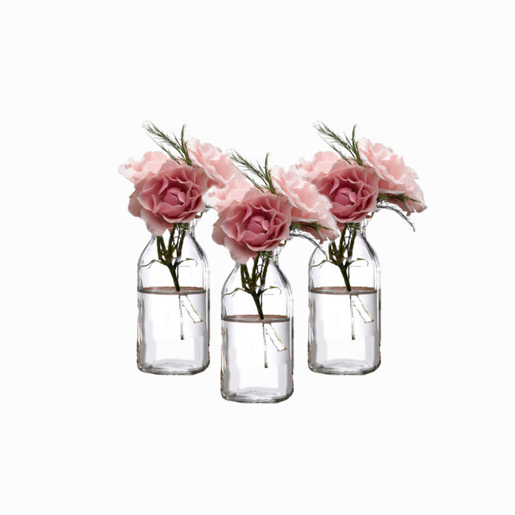 Mini Milk Bottle Vase