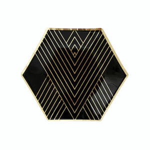 Noir Hexagon Small Plates