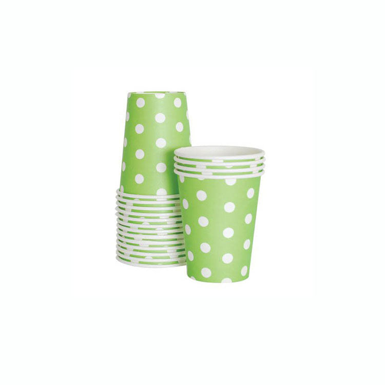 Apple Green Party Cups