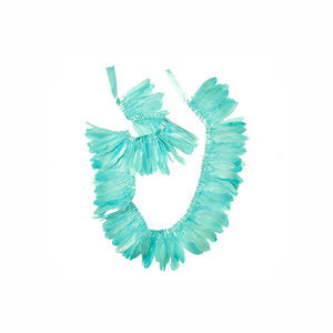 Mint Feather Garland