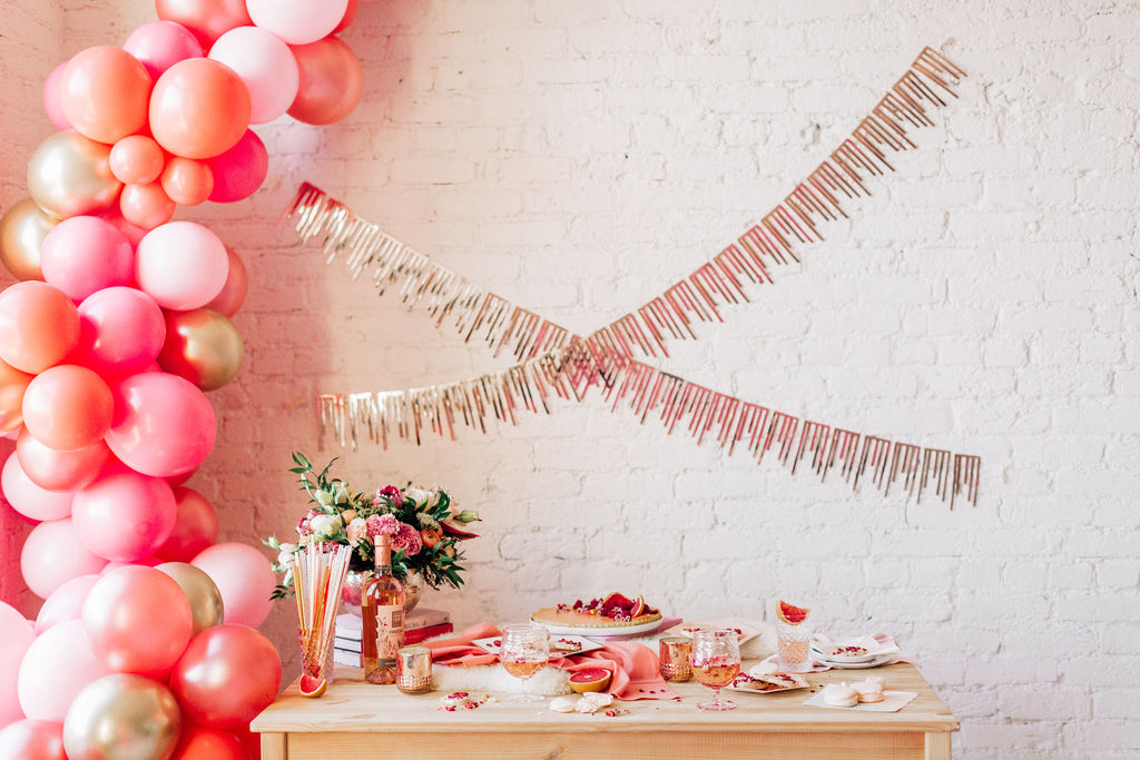 Pretty in Pink Balloon Garland Kit