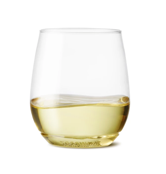 Vino Stemless Plastic Wine Glasses