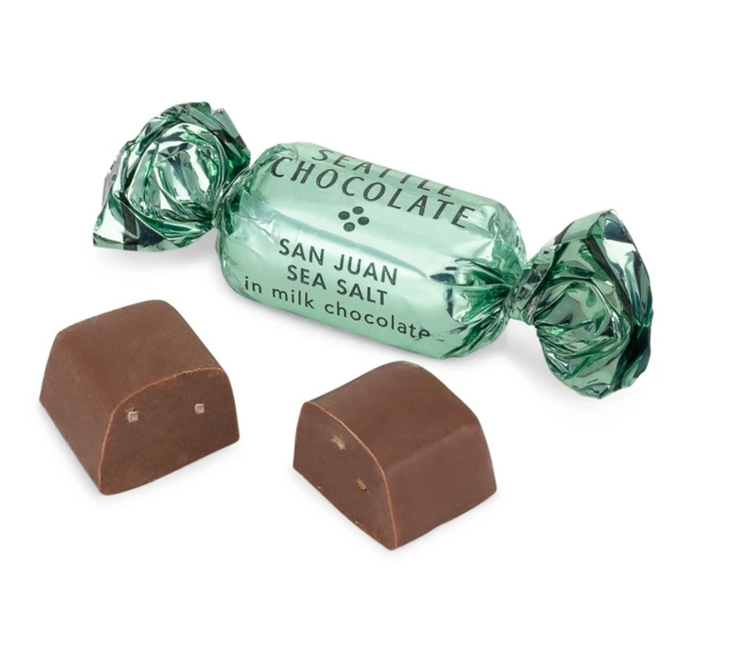 Seattle Chocolate San Juan Sea Salt Truffle