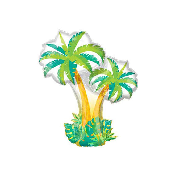 Palm Tree Mylar Balloon