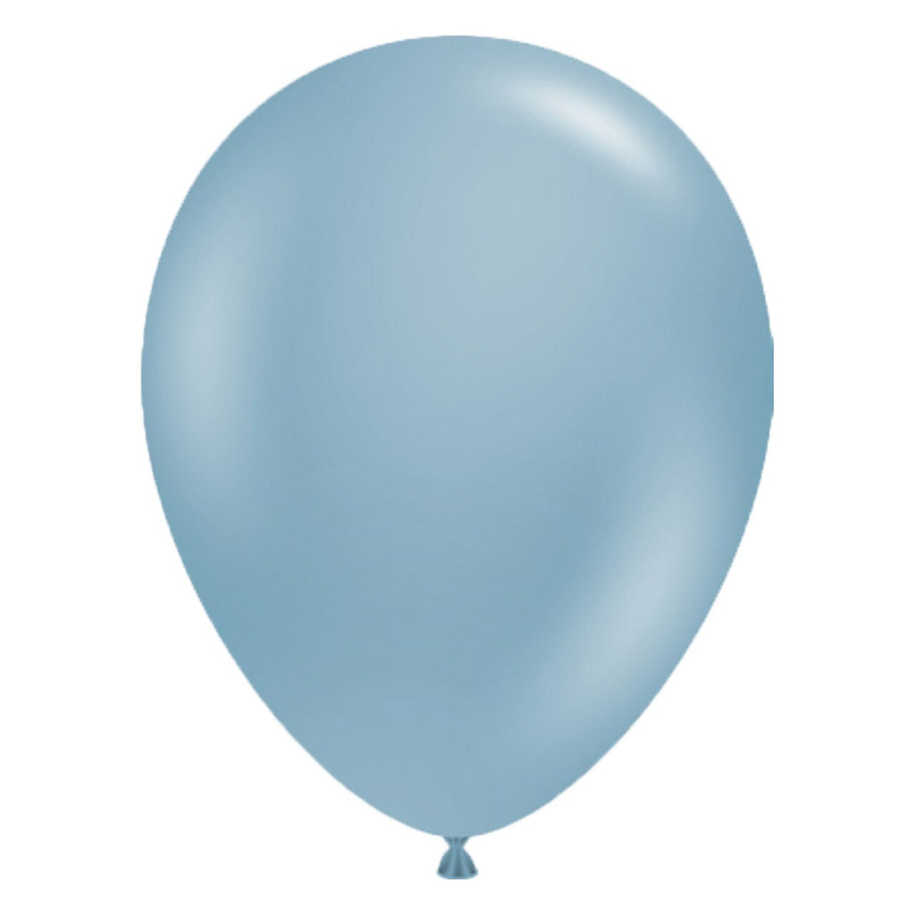 tuftex blue slate latex balloon